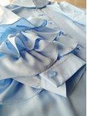 Нарядная блуза с воланами на рукавах. Арт.2594