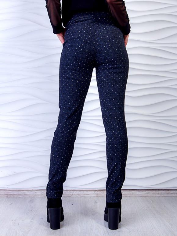 Стильные брюки с принтом. Арт.2499