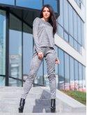 Костюм: модная кофта с удлиненной спинкой + стильные брюки. Арт.2538
