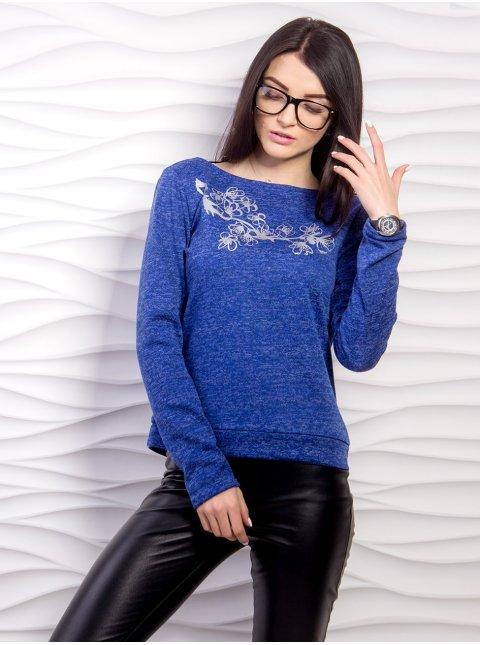 Трикотажный свитер с открытой спиной. Арт.2188