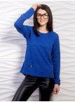 Однотонный свитер тонкой вязки. Арт.2182
