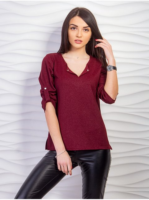 Блуза с 3/4 рукавом. Арт.2243