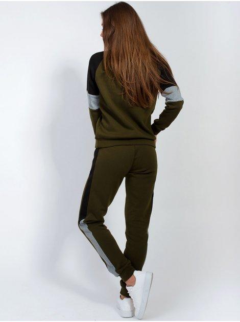 Спортивный костюм с лампасами 2853