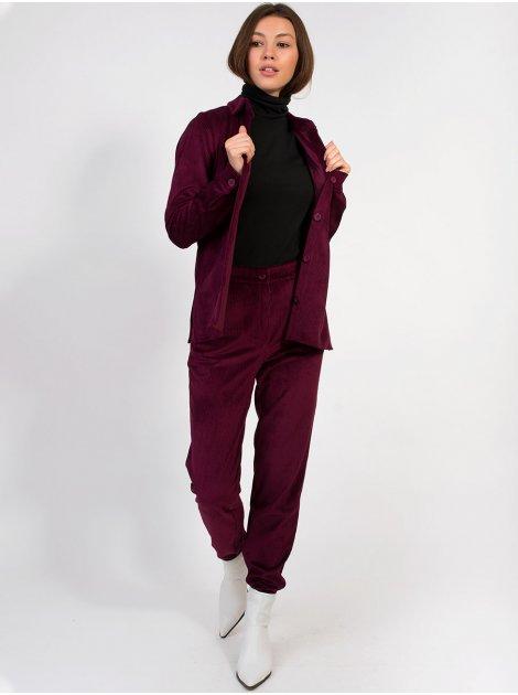 Вельветовый костюм с брюками 2849
