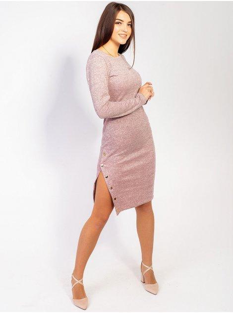 Платье с кнопками по ноге 2872