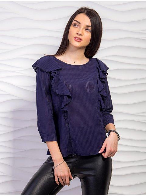 Блуза с рюшами. Арт.2272