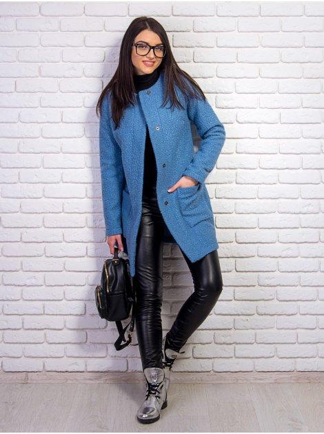 Стильное пальто с карманами. Арт.2233