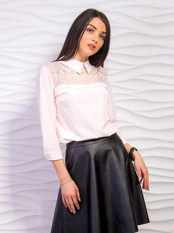 Блуза с кружевными вставками. Арт.2240