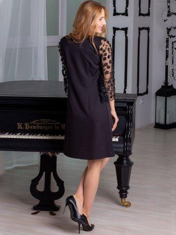 Сукня з ошатними рукавами 2891