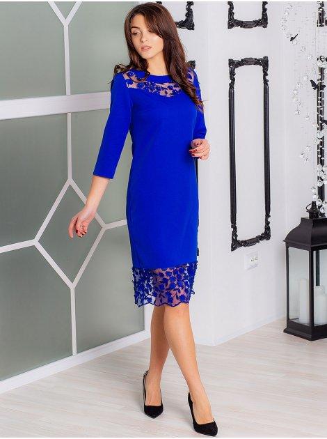 нарядное платье с кружевом 2892