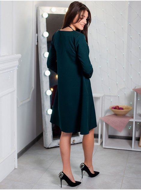 Платье А-силуэта с подвеской 2904