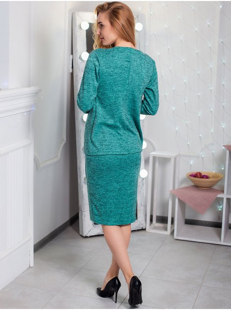 Комплект: Платье по фигуре + стильная накидка. Арт.2440