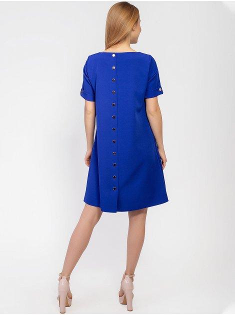 Элегантное платье с кнопками по спинке 2929