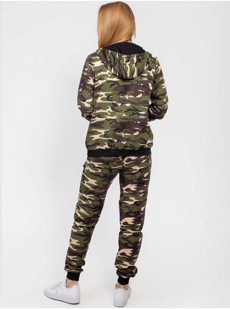 Модный спортивный костюм в стиле милитари 2923
