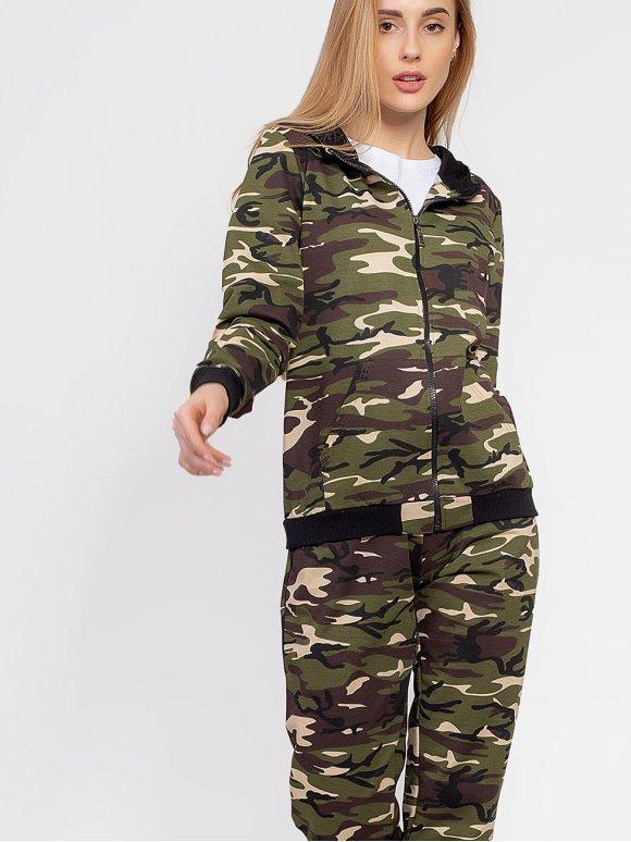 Модний спортивний костюм в стилі мілітарі 2923