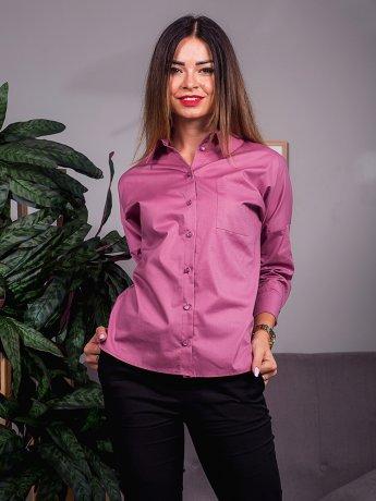 Стильная блуза с 3/4 рукавом и карманом на груди. Арт.2416