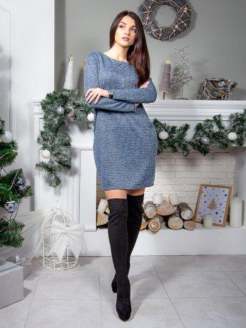 Гарна фактурна сукня з оригінальним замком. Арт.2576