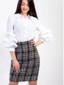 Костюм-двойка: стильный жакет + юбка по фигуре. Арт.2601
