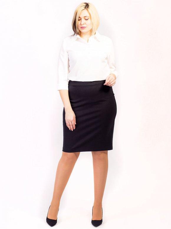 Базовая юбка size+. Арт.2614