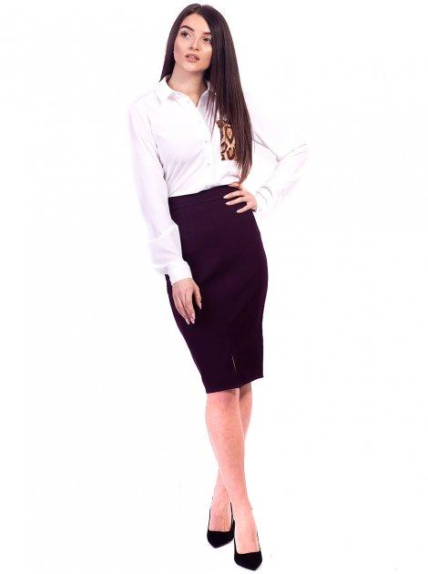 Легкая блуза с принтованным карманом. Арт.2663