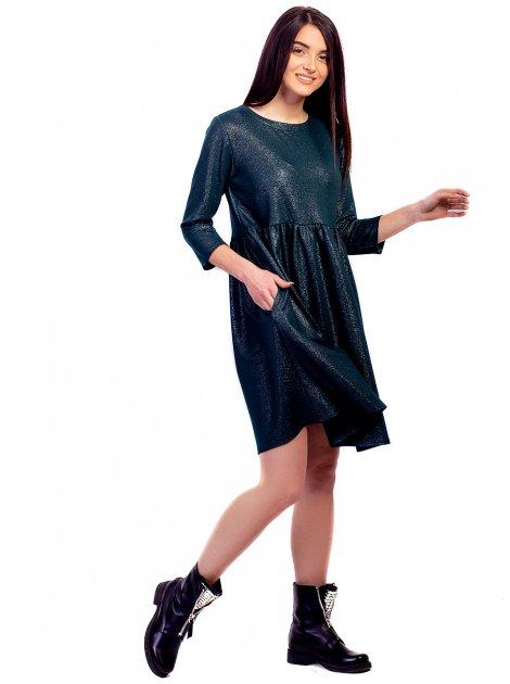 Шикарное воздушное платье свободного кроя. Арт.2642