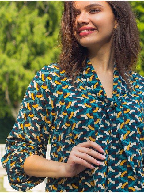Блуза свободного силуэта 2777