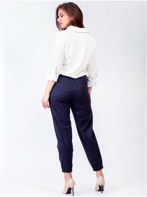 Стильные укороченные брюки 2730