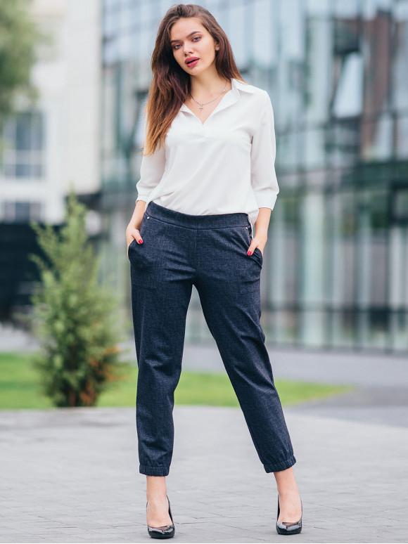 Стильні укорочені брюки 2730