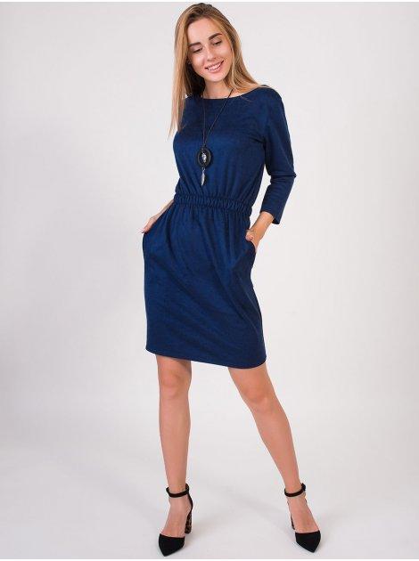 Платье на резинке по талии 2820