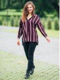 Стильная блуза свободного кроя 2798