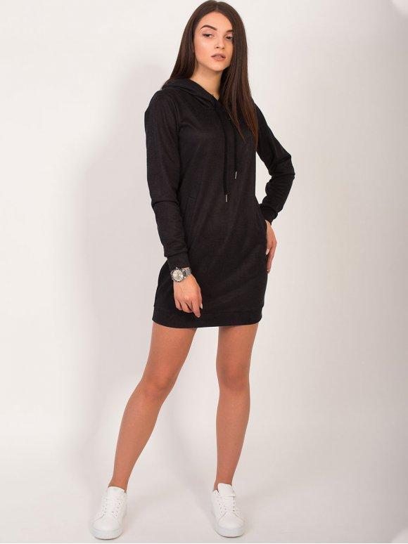 Платье-худи с капюшоном 2821