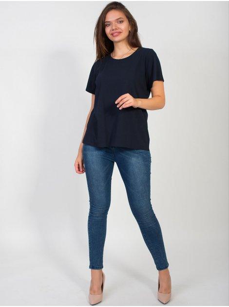 Базовая футболка size+ 2752
