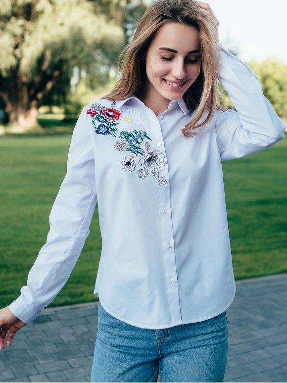Рубашка с вышивкой 2838