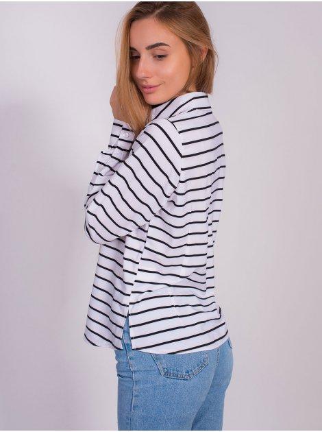 Блуза в полоску 2809