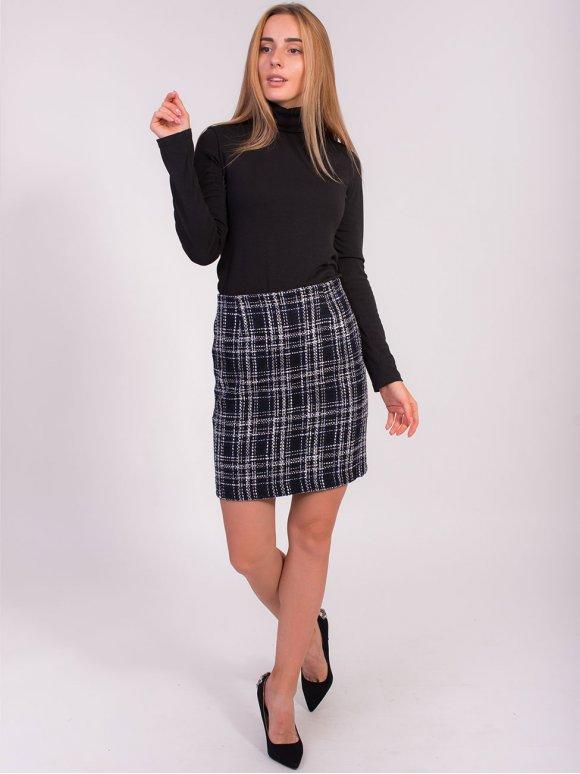 Твидовая юбка chanel 2831