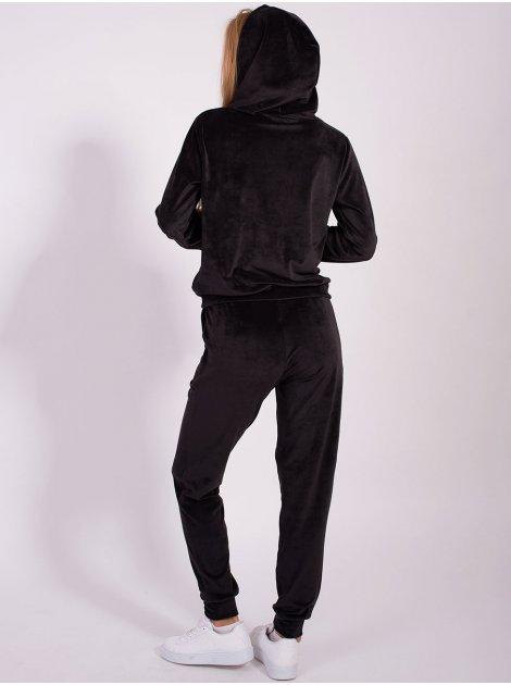 Плюшевый спортивный костюм 2843