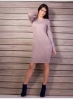 Трикотажное платье с карманами. Арт.2130