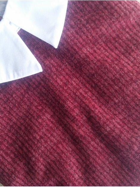 Платье в деловом стиле с воротником и манжетами. Арт.2467