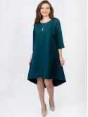 Платье size+ с вырезом в форме сердца на спинке 2927