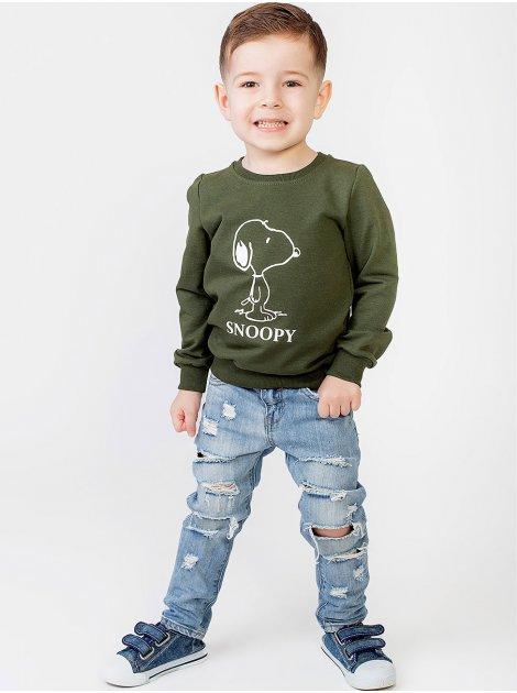 """Детская кофта с принтом """"Snoopy"""" 10005"""