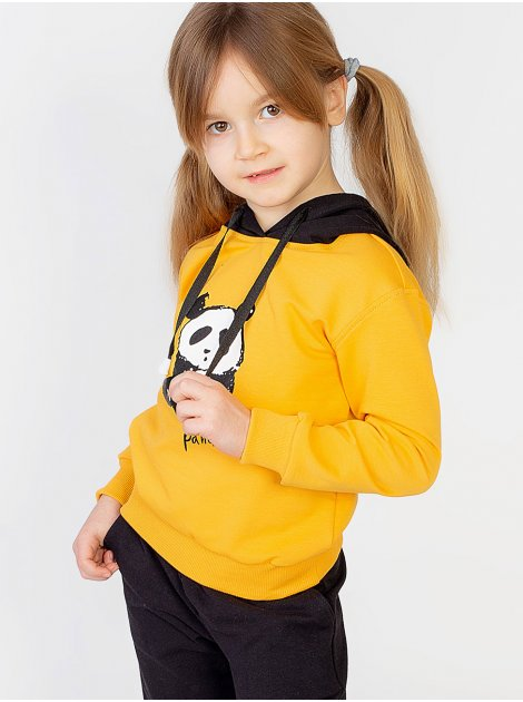 Комбинированный спортивный костюм для девочки 10012