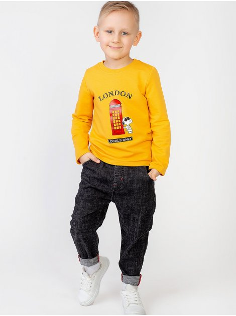 Детский джемпер с ярким принтом 10004