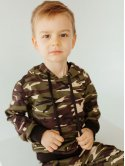 Детский спортивный костюм милитари с капюшоном 10000