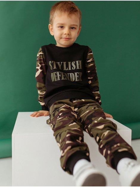 Детский костюм милитари с надписью 10001