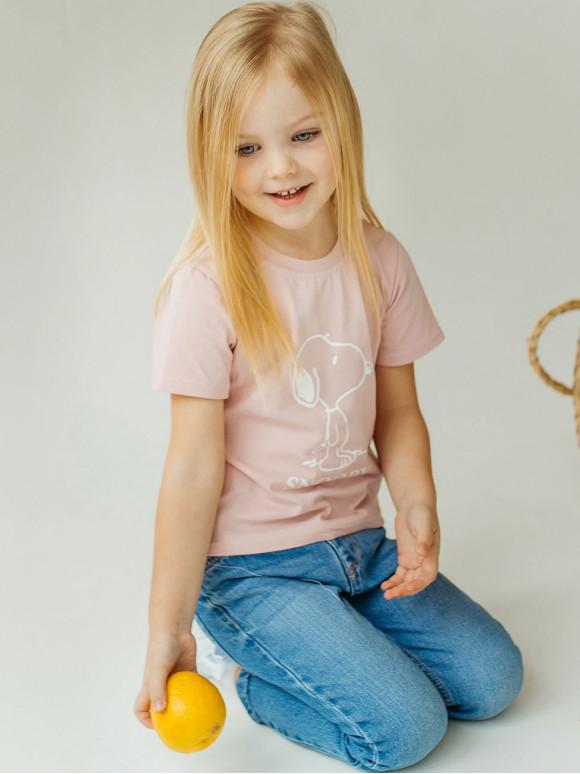 "Дитяча футболка з принтом ""SNOOPY"" 10017"