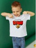 """Детская футболка с принтом """"BRAWL STARS"""" 10034"""