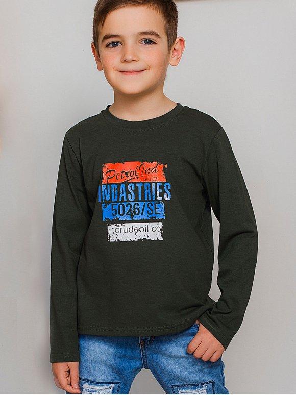 Стильная детская кофта с длинным рукавом 10019
