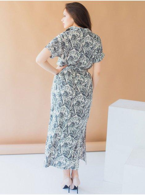 Красивое длинное платье size+ 3006