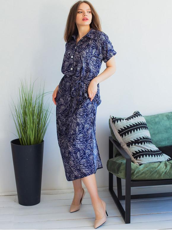 Красива довга сукня size+ 3006