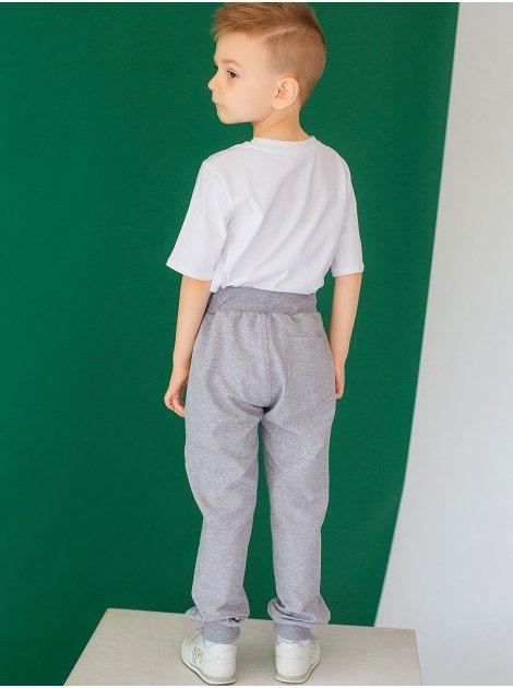 Детские спортивные брюки на мальчика и с вышивкой 10032